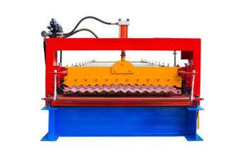 China Industrielle Metalldach-Platten-Maschine, blaue Farbdeckungs-Blechumformungs-Maschine  fournisseur